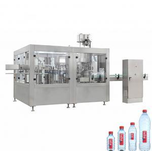 Quality Round Square PET Bottle Filling Machine , 3000-6000 BPH Beverage Filling Equipment wholesale