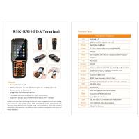 Cheap Latest Android Handheld Terminal R310 Barcode Logistics PDA with 4g wifi gps for sale