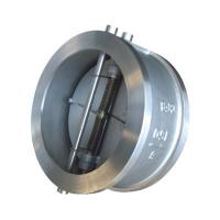 Quality API 594 API6D Cast Steel Wafer type Double Disc Swing Check Valve wholesale