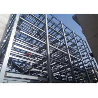 Quality Steel Structure Prefabricated Warehouse Buildings , Ecuador Steel Frame Fabrication wholesale