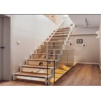 Quality Modern hot-sale wrought iron straight staircase high quality staircase for you wholesale
