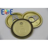 China Tinplate Easy Open Recycling Can Lids For Canned Tuna Fish , Aluminium on sale