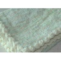 Quality 30 X 40 Plain Weave Polyester Baby Blankets , softest Baby boy Blankets Durable wholesale
