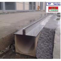 China grey polymer drainage channel on sale