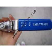 Quality Stainless Steel 2PC Ball Valve, Full Bore, Threaded End, 1000WOG, PN63 wholesale
