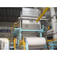Quality Toilet paper machine, 1-2T/D, raw material: waste paper,pure pulp wholesale