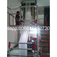 Quality Automatic Double Winder PE Film Blowing Machine HDPE Blown Film Extrusion Line wholesale