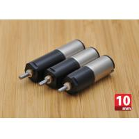 Quality Customized 10 mm High Torque DC Motor With Plastic Planetary Gearbox wholesale