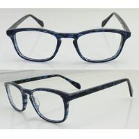 Quality Fashion Blue Acetate Men Optical Frames, Custom Hand Made Acetate Eyewear Frame wholesale