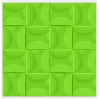 Quality Purple / Green Electrical Plastic Modern 3D Wall Panels Kitchen Decorative 3D Wallpapers wholesale