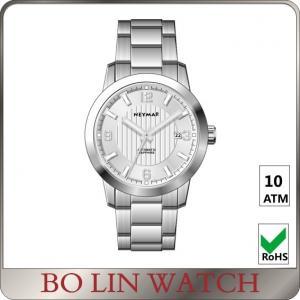 High End Steel Mesh Bracelet Watch , Stainless Steel Geneva Watches For Women