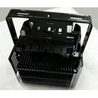 Quality Black LED Lighting Aluminum Heat Sink Extrusions 320W Anodized Surface wholesale
