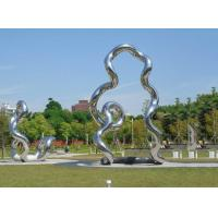 Quality Welding Modern Garden Outdoor Yard Statues Handmade Polished Metal Art wholesale