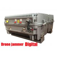 Buy cheap Gps Glonass Satellite Signal Jammer , Drone Radio Frequency Jammer 20KM Long from wholesalers