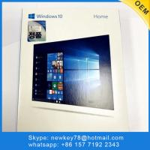 Quality Best sale Newest Korean Language Microsoft Windows 10 Home with 3.0 USB Flash Drive FPP Key Online activation Windows 10 wholesale