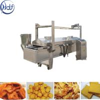 Quality Automatic Puffed Snacks Continuous Fryer Machine , Potato Chips Frying Machine wholesale