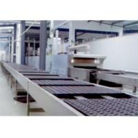 China Chocolate Cake Production Machine , Custrad Pie Cup Cake Manufacturing Equipment on sale
