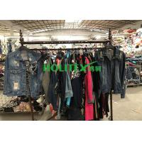 Quality Africa Second Hand Denim Jacket , American Style Used Winter Jackets wholesale