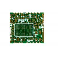 High Density FR4 PCB High Frequency Circuit Board For Mobile Base Station 0.2mm