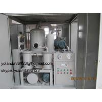 China Transformer Oil Purifier/Transformer Oil Purification Equipment/ Transformer Oil Filtration Unit on sale