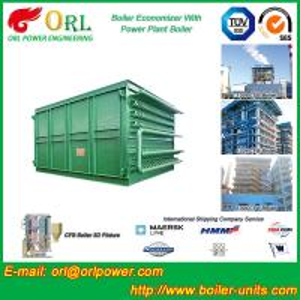 Quality Heat Economizer / Boiler Economiser In Steam Power Plant Non Pollution wholesale