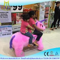 Quality Hansel mechanical horse kids rides and mall animal electric riders amusement park fairground rides for sale wholesale