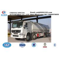 Quality biggest SINO TRUK HOWO 8*4 30,000Liters cistern tank truck for sale, Factory sale best price HOWO 30m3 water tank truck wholesale