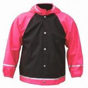 Quality Children's rain jacket/coat, made of PU fabric, waterproof 3000 wholesale
