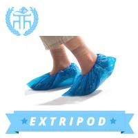 China Medical plastic Disposable pe shoe cover on sale