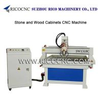 China Wood Cabinets Carving Machinefor Granite Engraving Tool Stone Cutting CNC Router SW1318C on sale