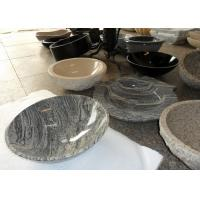 Quality Beige Vanity Stone Countertop Basin For Bathroom / Kitchen SGS Approved wholesale