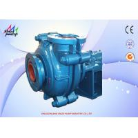 Quality High Chrome Anti-Corrosion Heavy Duty Slurry Pump With 2 - 6 Blades Impeller wholesale