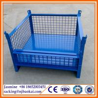 Quality Cargo and Storage Equipment Steel Cage Pallet wholesale