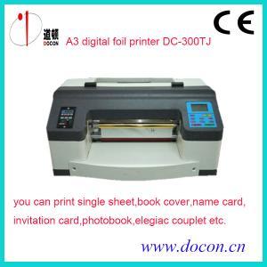 China DC-300TJ hot stamping machine , digital printing machine on sale