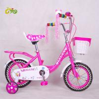 China 2017 new style Manufacturers wholesale Cheap stock bike for kids 16 inch kids bike inbuilt carrier on sale