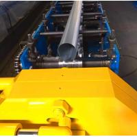 Quality Round Downspout Roll Forming Machine With 10 - 12 Mpa Hydraulic Pressure wholesale