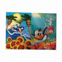 Quality 3-D Lenticular Poster, Wonderful Designs, More Fresh and Clear Colors wholesale