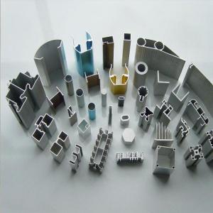 China Customized Building Extrusion Aluminium Profiles Precision Tube Blade on sale