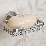 Quality soap basket made of Aluminum item No. A1001A-8 wholesale