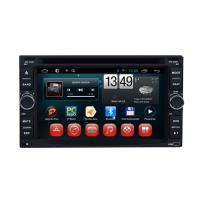 Quality 1080P video Double Din Car DVD Players Android Navigation System with DVD / VCD / CD / MP3 / MPEG4 wholesale