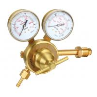 Quality Heavy Duty CO2 Argon Gas Pressure Regulator With Meter For Welding And Cutting Industry wholesale