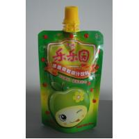 China High Barrier Plastic Food Packaging Bags, Die Cut Spout Pouch on sale