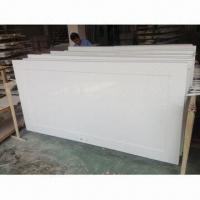 Quality MDF interior door with white lacquer painting wholesale