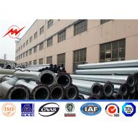 China 500kv Power Electricity Transmission Line Tower / Steel Straight Pole on sale