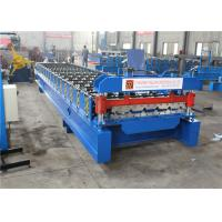 Quality Durable Garage Shutter Door Roll Forming Machine High Strength Long Life Span wholesale