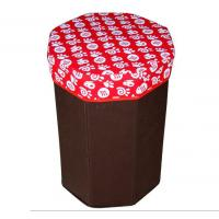 Quality Promotional portable non - woven fabric storage box bag functional chair wholesale