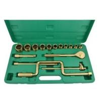 China Customized Color Non Sparking Spanner Set Safety Hardware Maintenance on sale