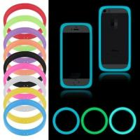 China Cute silicone ring phone case for smartphone accessories phone frame protective cover on sale