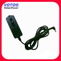 Quality 12V 1.5A US Plug CCTV Power Adapter / 5.5mm 2.1mm Right Angle Jack Adapter wholesale