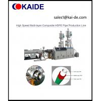 China High Speed Multi-layer Composite HDPE Pipe Production Line on sale